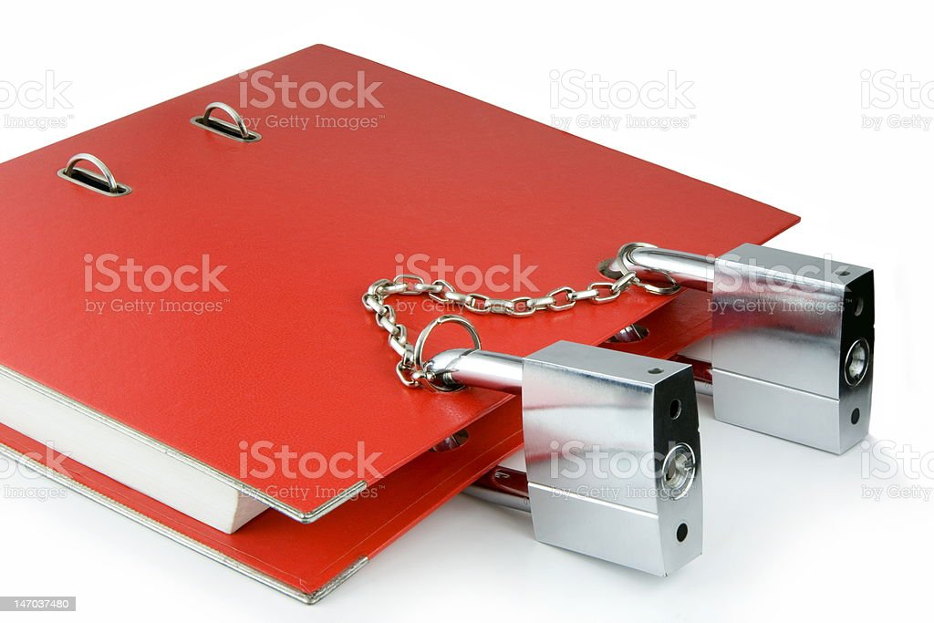 Protection information. royalty-free stock photo