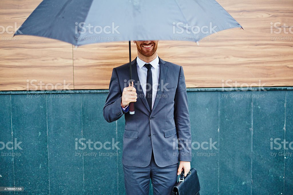Protection of business stock photo