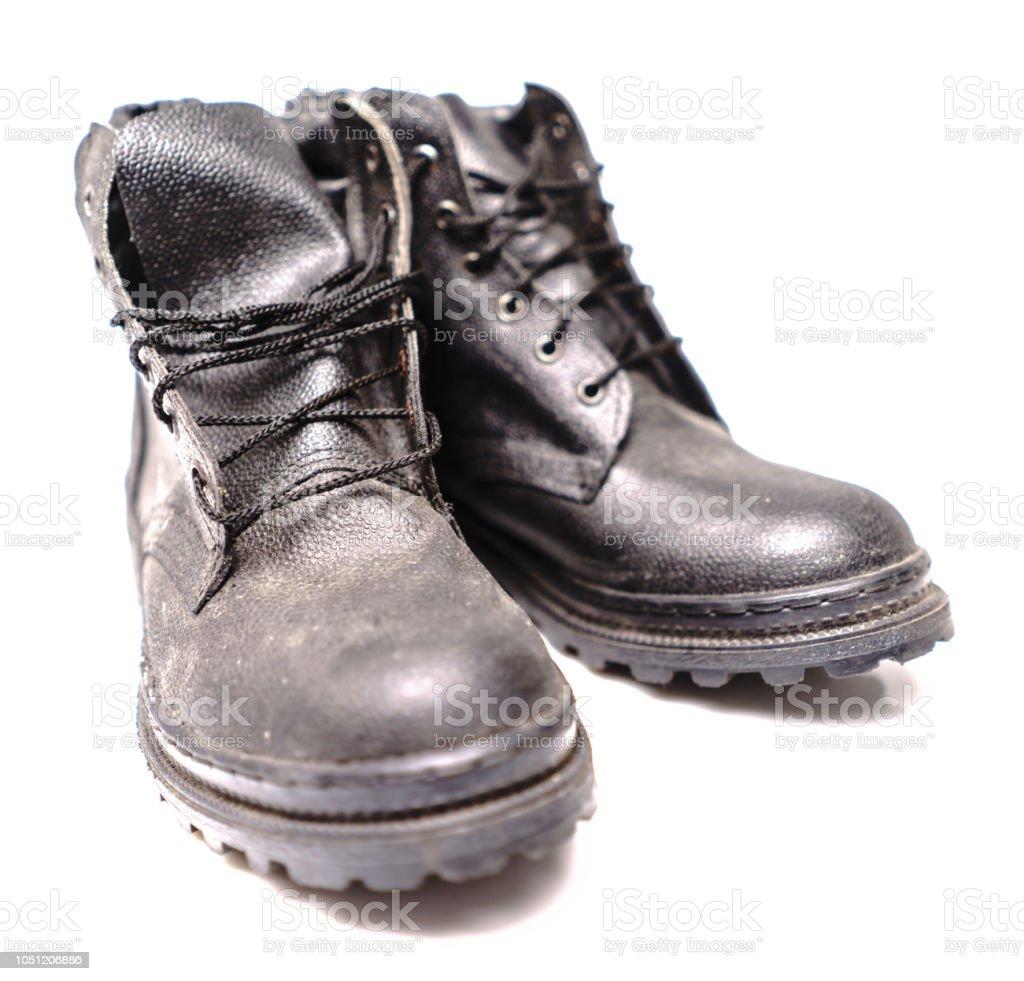 Zapatos De Trabajo De Protección Foto de stock y más banco