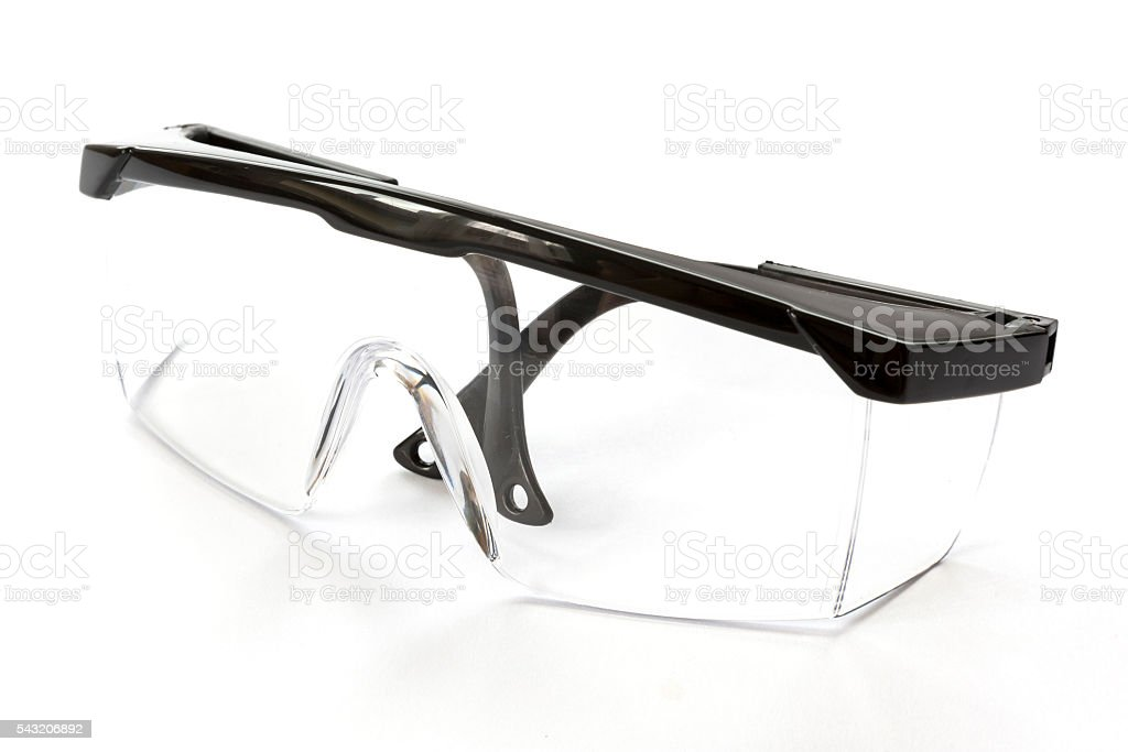 Protective eyewear glasses stock photo