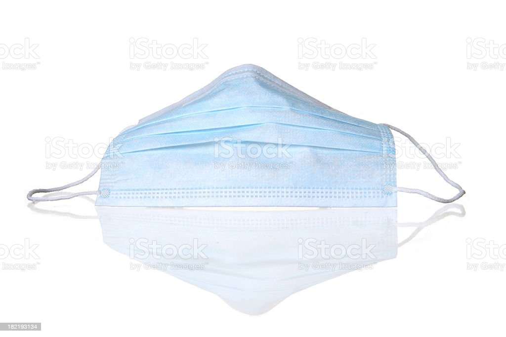 Protective face mask royalty-free stock photo
