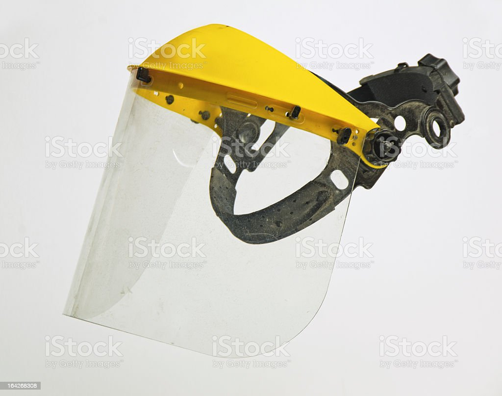 Protective Face Shield stock photo