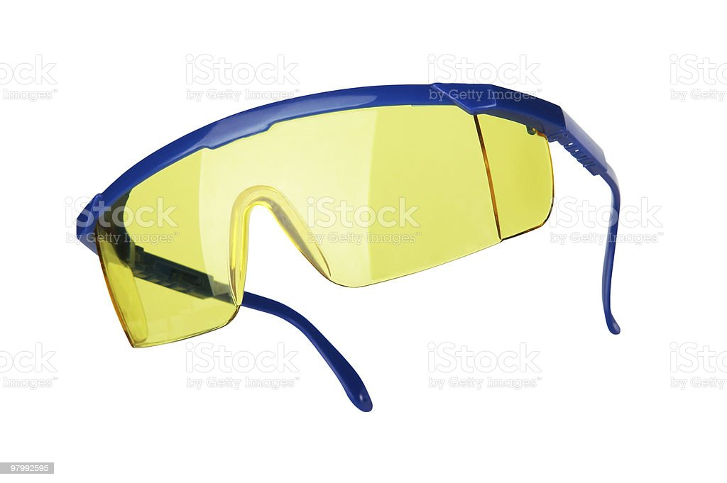 Protective glasses royalty free stockfoto