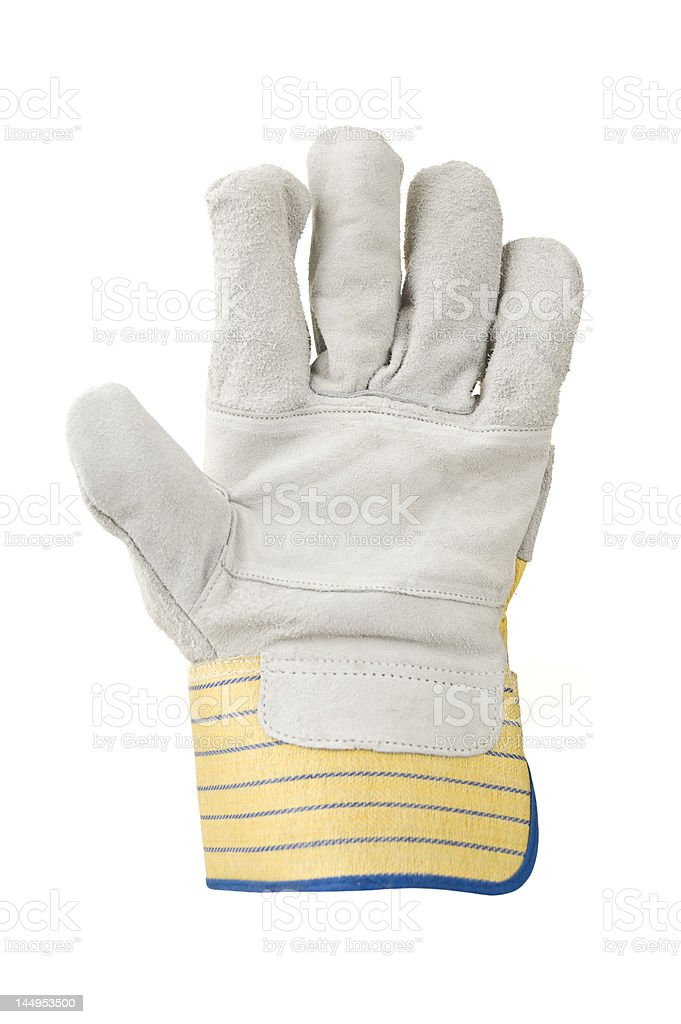 Protective glove royalty-free stock photo