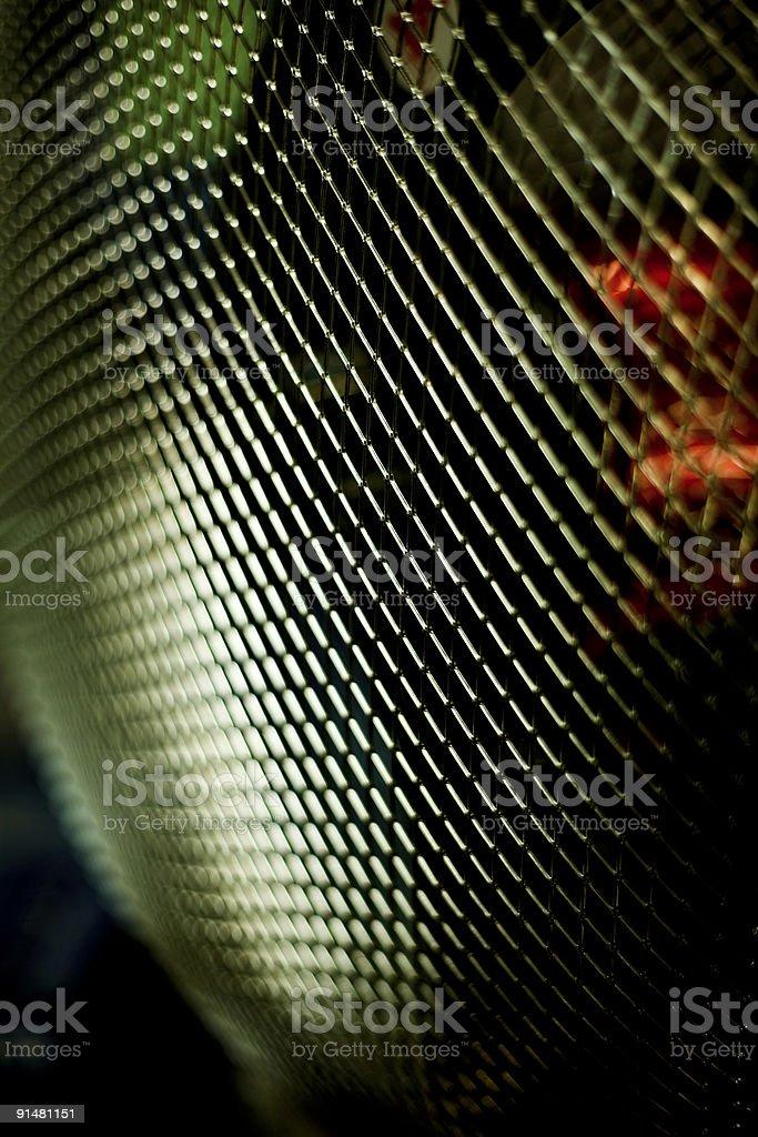 Protective lattice of the fan royalty-free stock photo