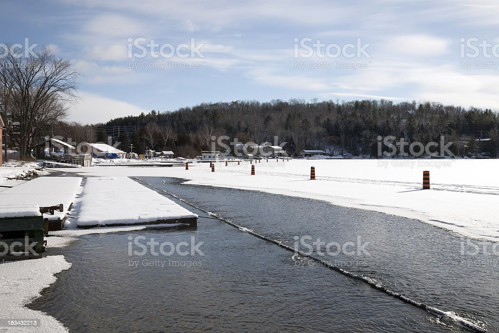 Protective Open Water royalty-free stock photo