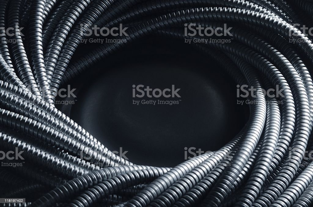 Protective shield stock photo