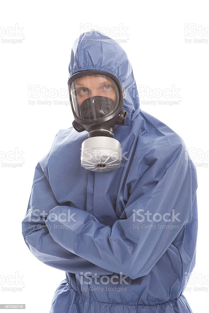 Protective workwear for manual worker stock photo