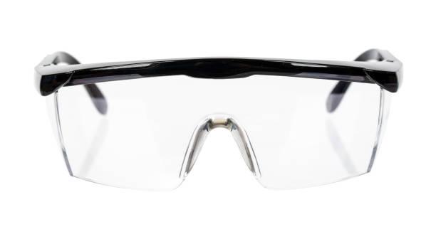 Beschermende werkkleding ter bescherming van de menselijke ogen, veiligheidsbril foto