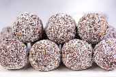 Cocoa Berry Protein Balls, Vegan, Nut Free, Gluten Free and Dairy Free