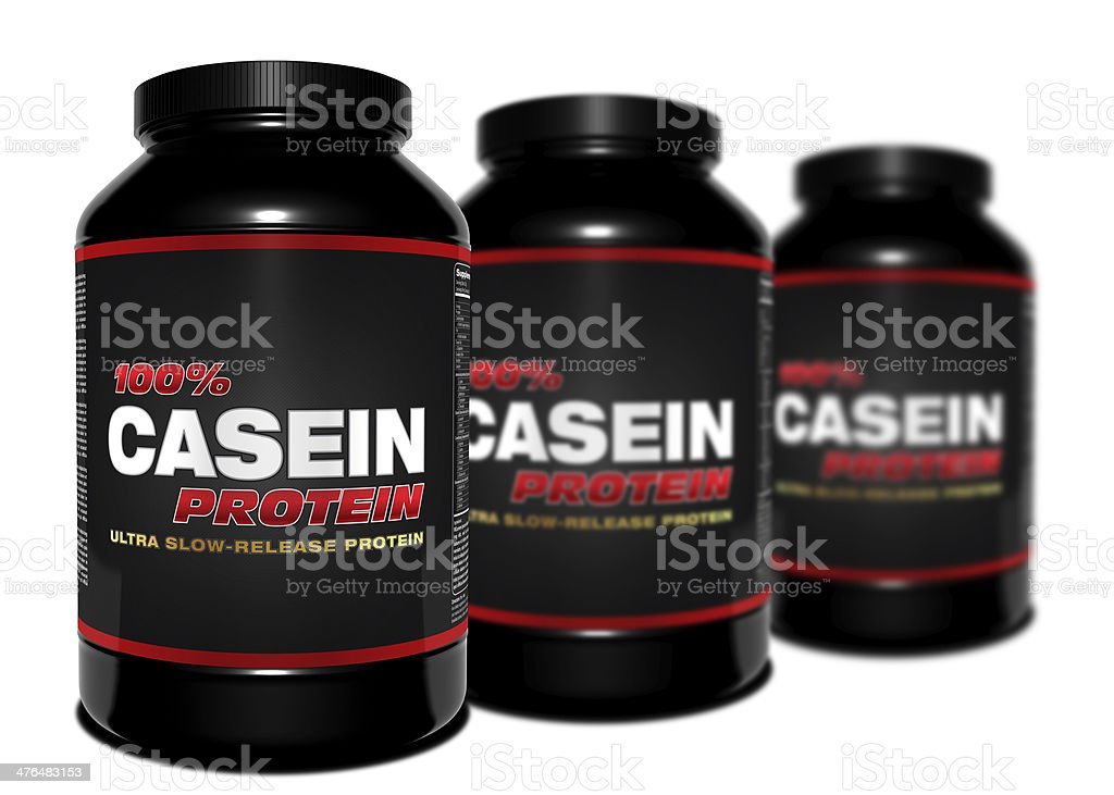 CASEIN Protein royalty-free stock photo