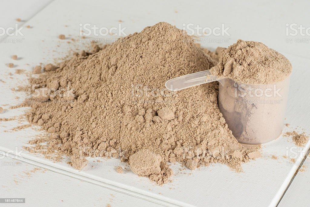 Protein Powder 2 royalty-free stock photo