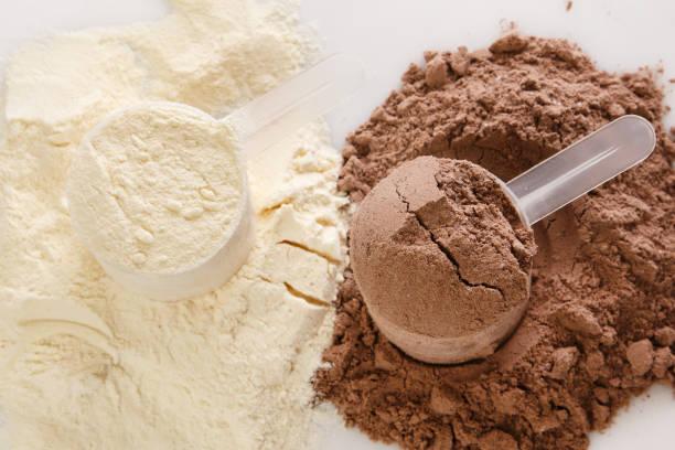 proteinpulver - mald bildbanksfoton och bilder