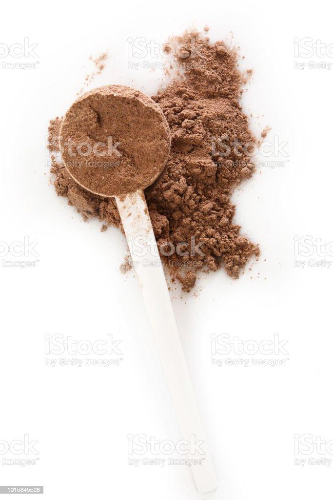 Protein powder - Zbiór zdjęć royalty-free (Bez ludzi)