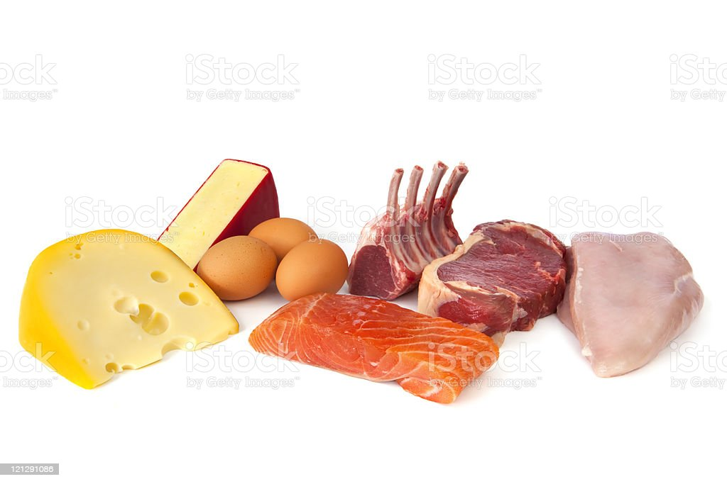 Protein Rich Foods stock photo