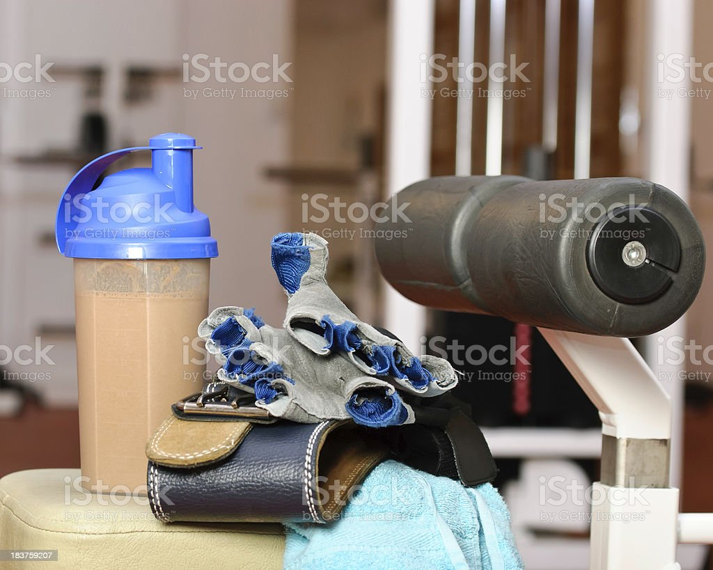 protein shake royalty-free stock photo