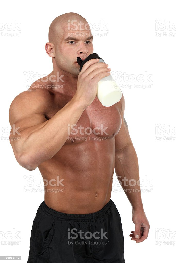 Proteins time royalty-free stock photo