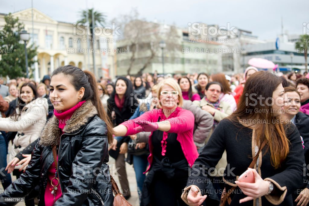 Protest Against Mens Violence Izmir Turkey Stock Photo Download Image Now Istock
