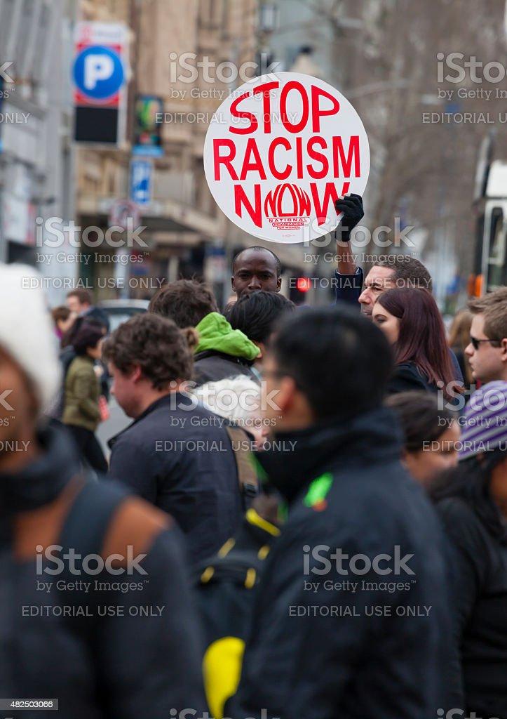 Manifestation contre le racisme - Photo