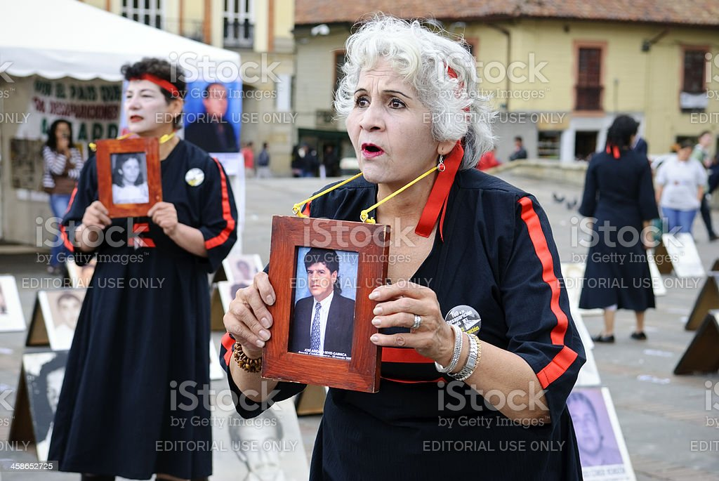 Women in Bolivar Square demand answers and accountability from the...