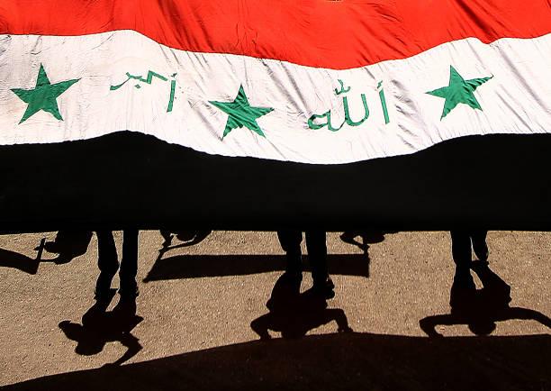 Manifestation de Kirkouk, l'Irak. - Photo