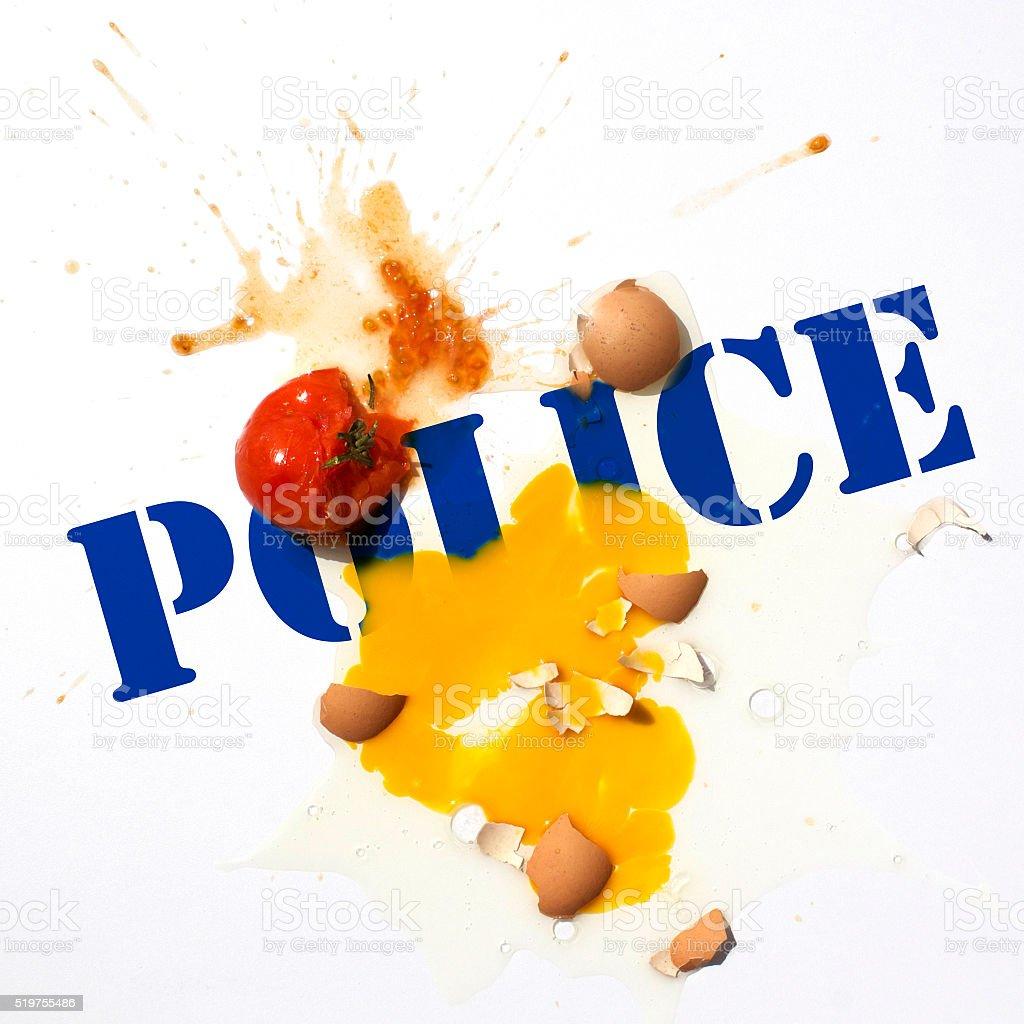 Protest Police Violence stock photo
