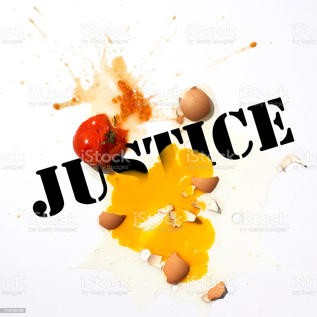Protest Seeking Justice stock photo