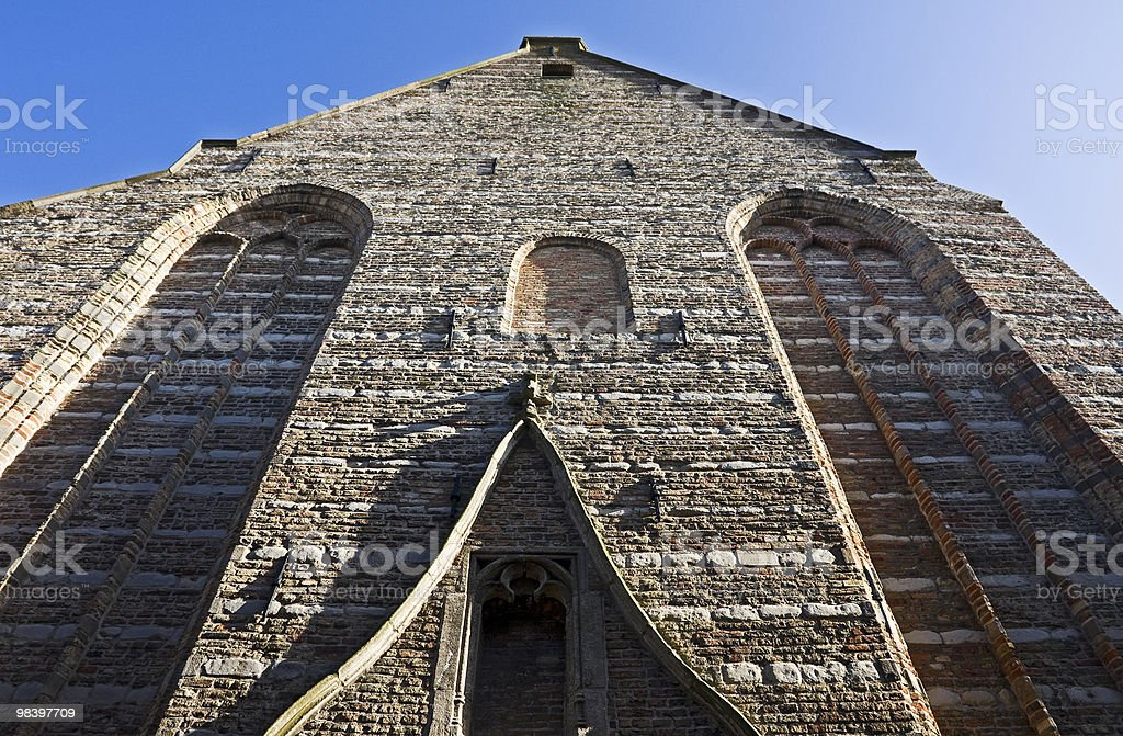 Protestant church royalty-free stock photo