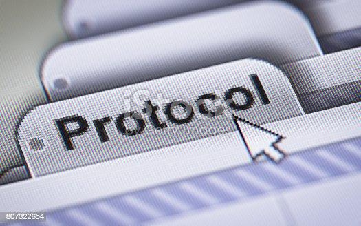 istock Protocol 807322654