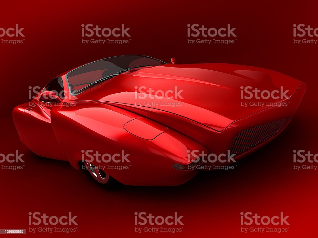 prototype car royalty-free stock photo