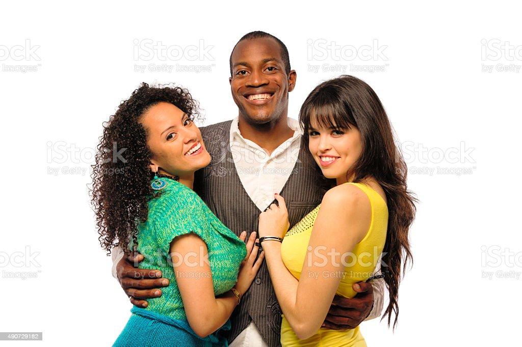 Latina lesbienne trio