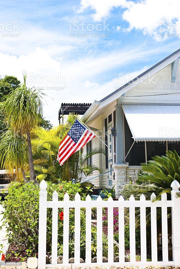 Proud America stock photo