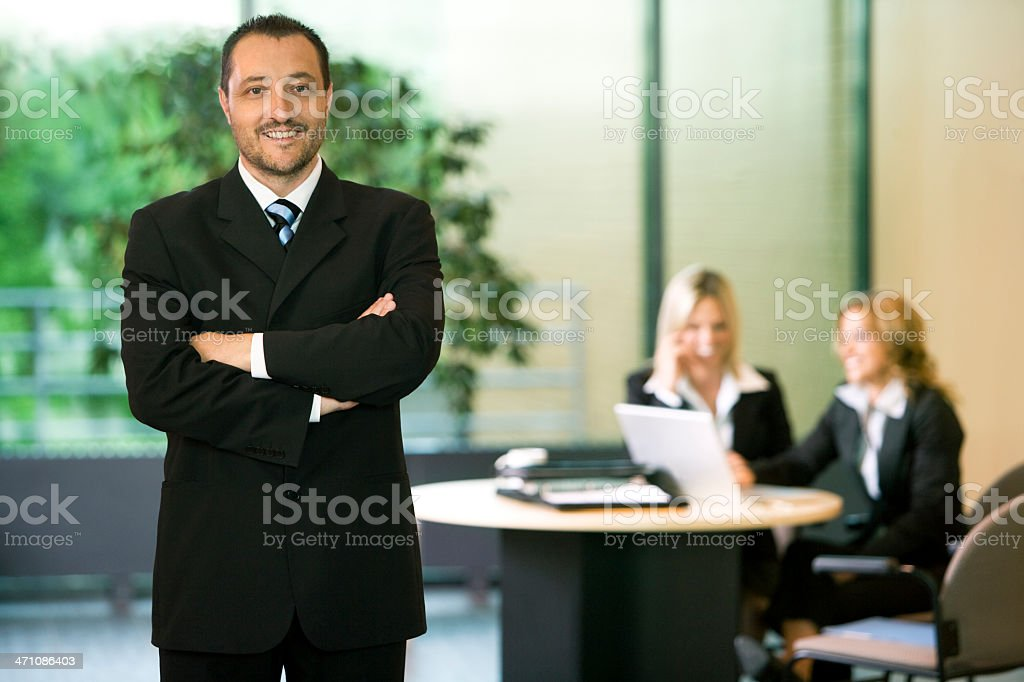 Proud Business Leader royalty-free stock photo