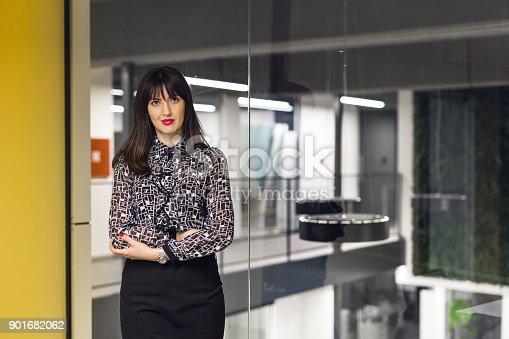 629805626 istock photo Proud businesswoman portrait 901682062