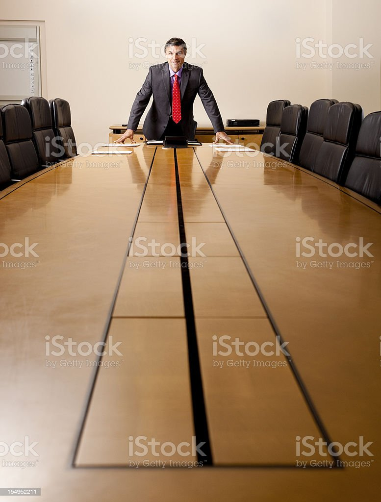 proud CEO royalty-free stock photo