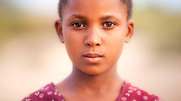 proud east african girl - one girl only stock pictures, royalty-free photos & images