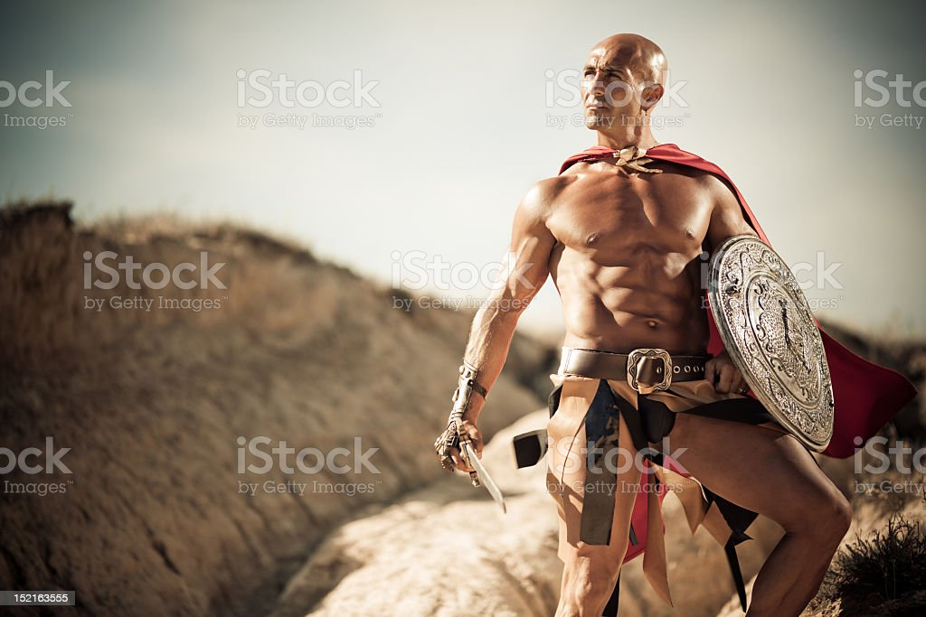 Gladiator - Foto de stock de Adulto libre de derechos