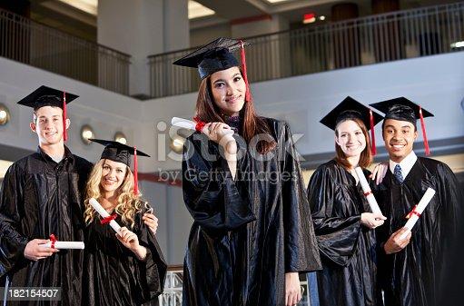istock Proud graduates 182154507
