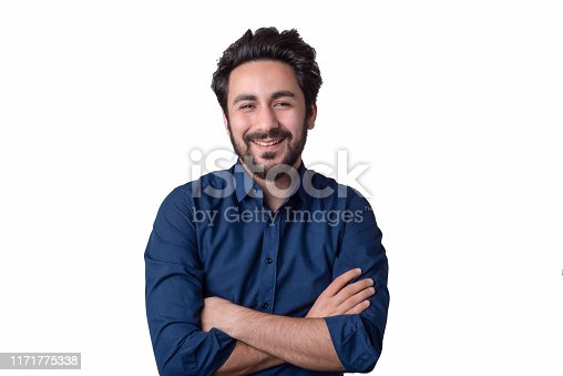 istock Proud Happy Young man 1171775338