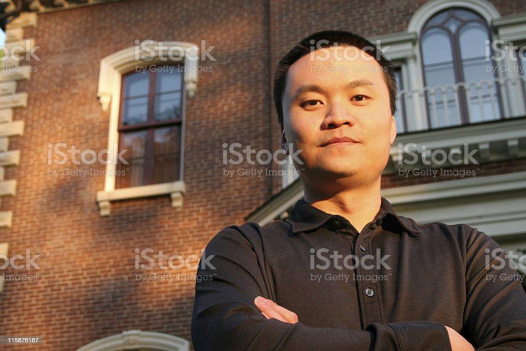Proud Man royalty-free stock photo