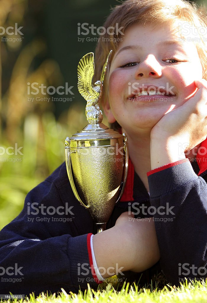 Proud Moment 1 royalty-free stock photo