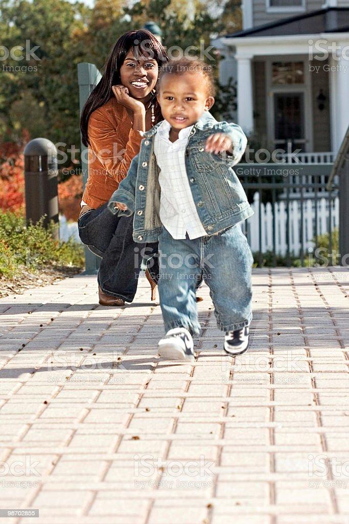 Orgoglioso Mommy foto stock royalty-free