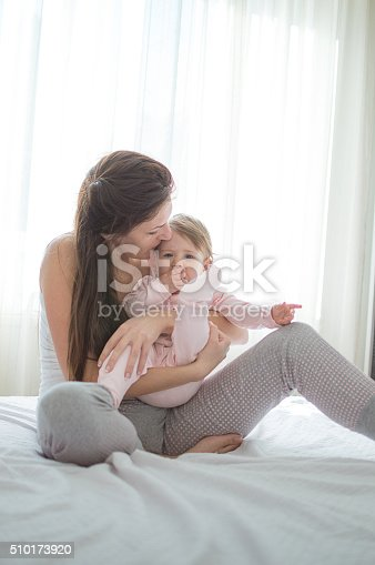 538360916 istock photo Proud mother cuddled her daughter 510173920