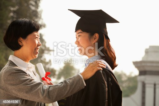 istock Proud Mother of a Graduate 453649361