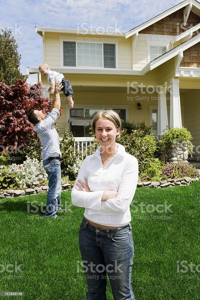 Proud Mother royalty-free stock photo