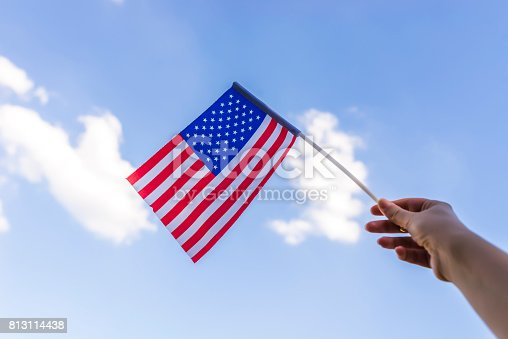 514069232 istock photo Proud of her nation 813114438