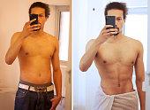 Proud of his progress