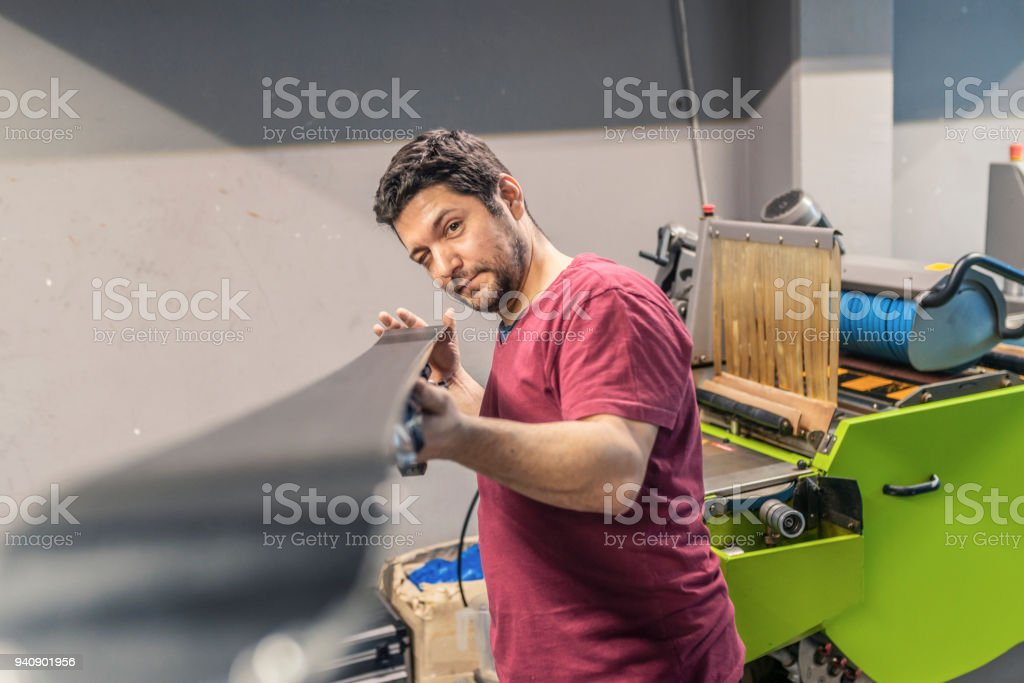Proud of my business stock photo