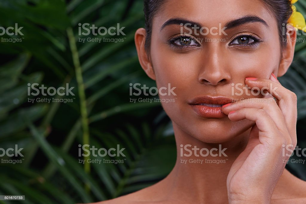 Proud of my culture stock photo