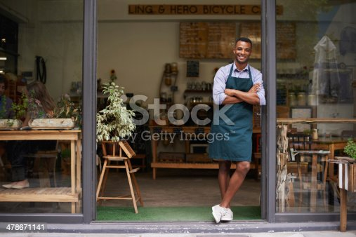 istock Proud of my shop 478671141